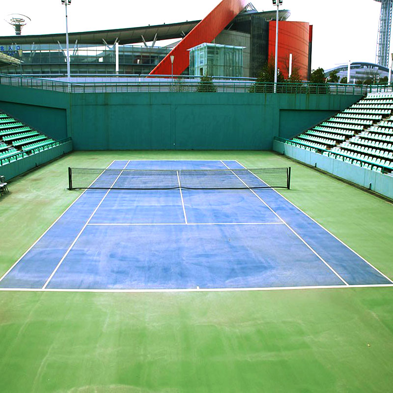 Polyurethane Tennis System Sports Surface
