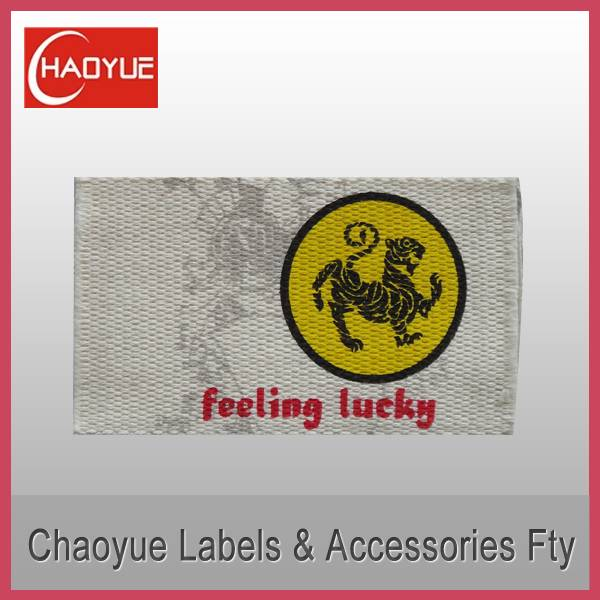Printed label for garment