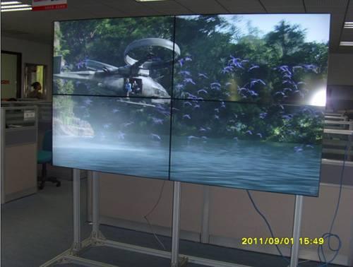 46 inch LCD Video Wall with ultra narrow bezel 7.3mm brightness 450nits