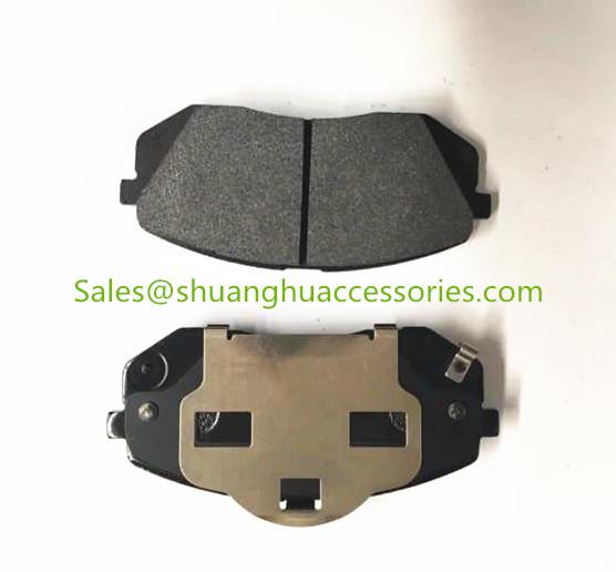 D1295 Brake Pad For HYUNDAI Auto Car.Semi Metallic Brake Lining