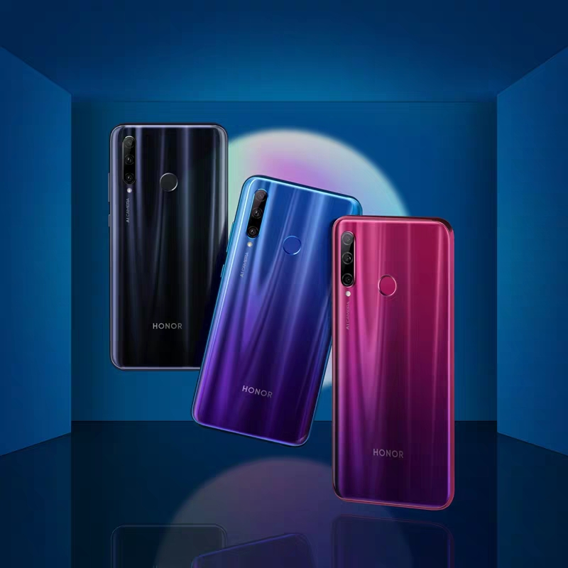 Huawei glory 20i 32 million AI selfie gradient pearl full screen phone