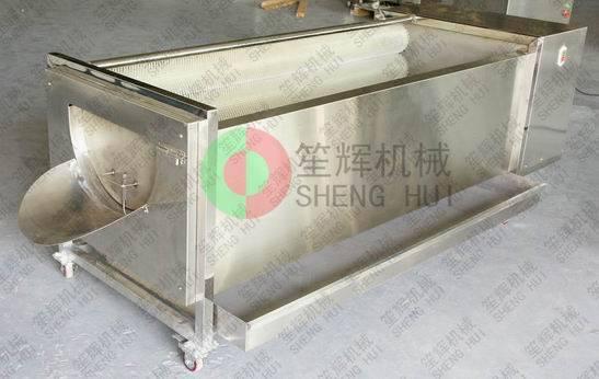 Large-scale amphisarca cleaning and peeling machine-QX-818