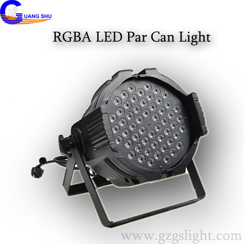 Good Quality RGBA 543W LED PAR Can Light with Multi-purposed (P54-3-A)