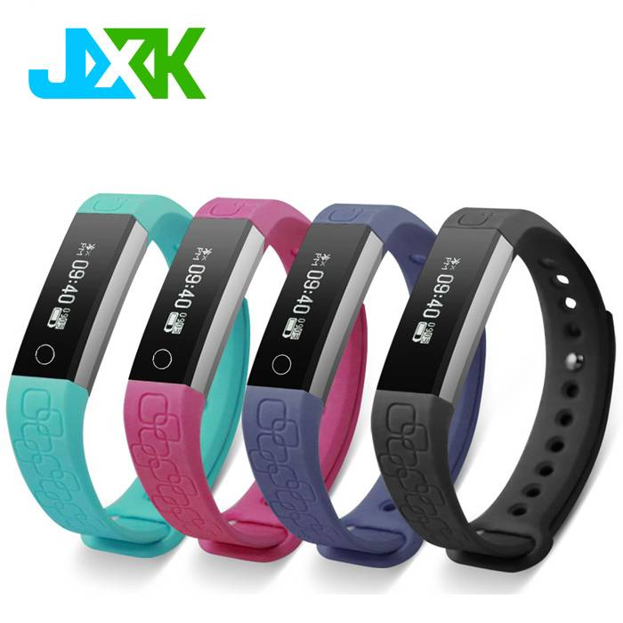 Bluetooth smart bracelet with heart rate monitor for IOS Android phone With Certificate