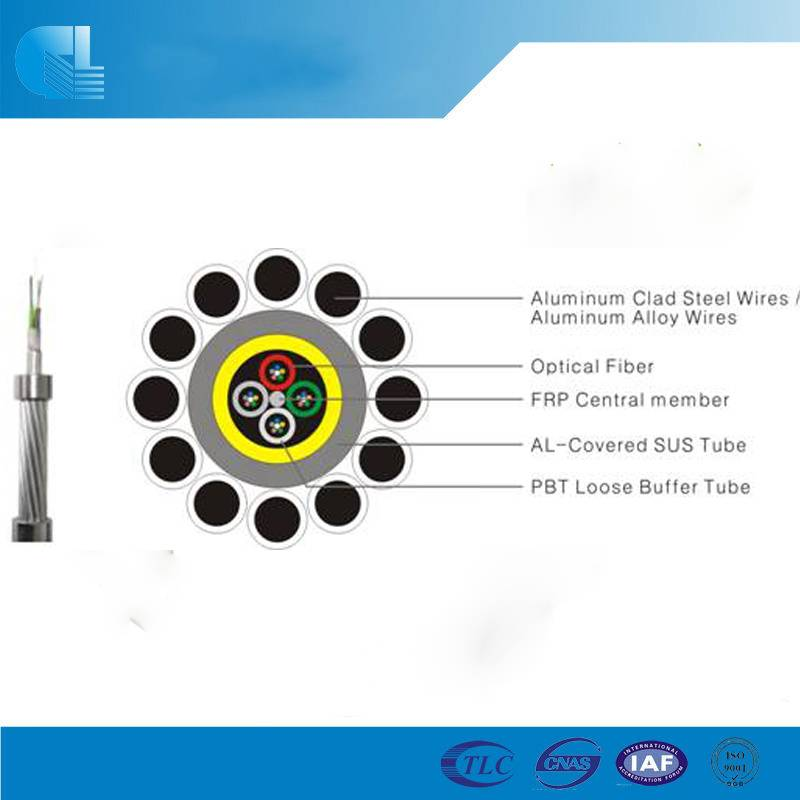 Typical Designs of Aluminum Tube OPGW