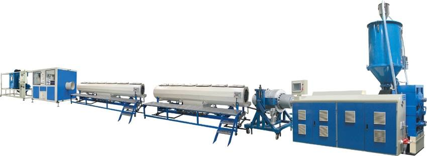 Plastic Pipe Extrusion Line-PE/PPR/PP Pipe Extrusion Line