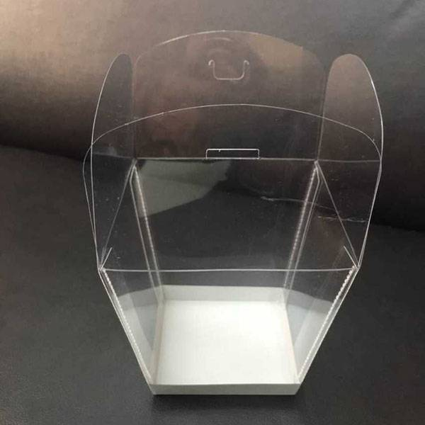 clear plastic chocolate box