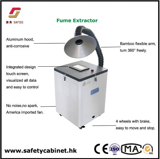 Laboratory Movable fume Extractor Arm Hood