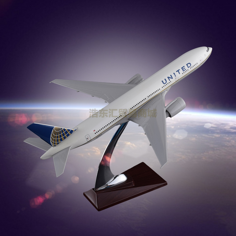 The Model Of Aircraft For Sale United Airlines Boeing 777