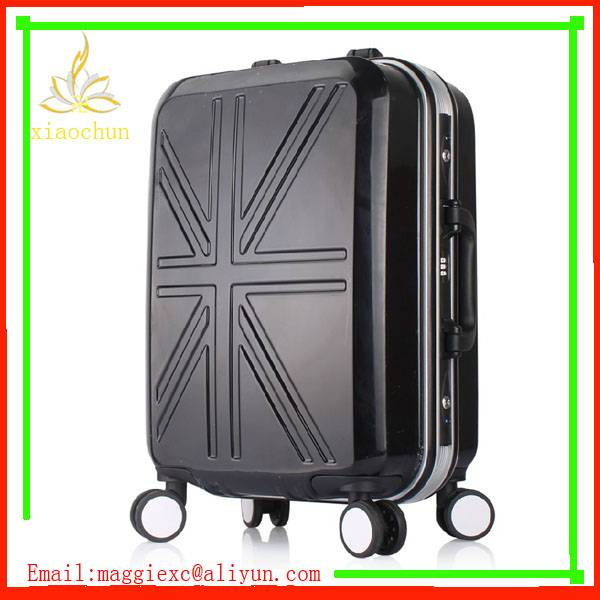 ABS PC Luggage Set, Aluminum Frame Trolley luggage suitcase