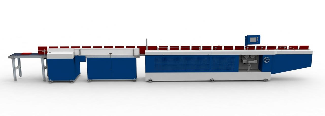 GJ-480 Spine Gluing Production Line