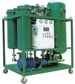 Vacuum Steam Turbine Oil Purifier