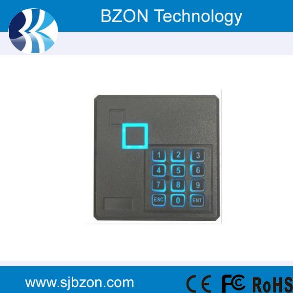 Standalone door access control touch keypad rfid reader