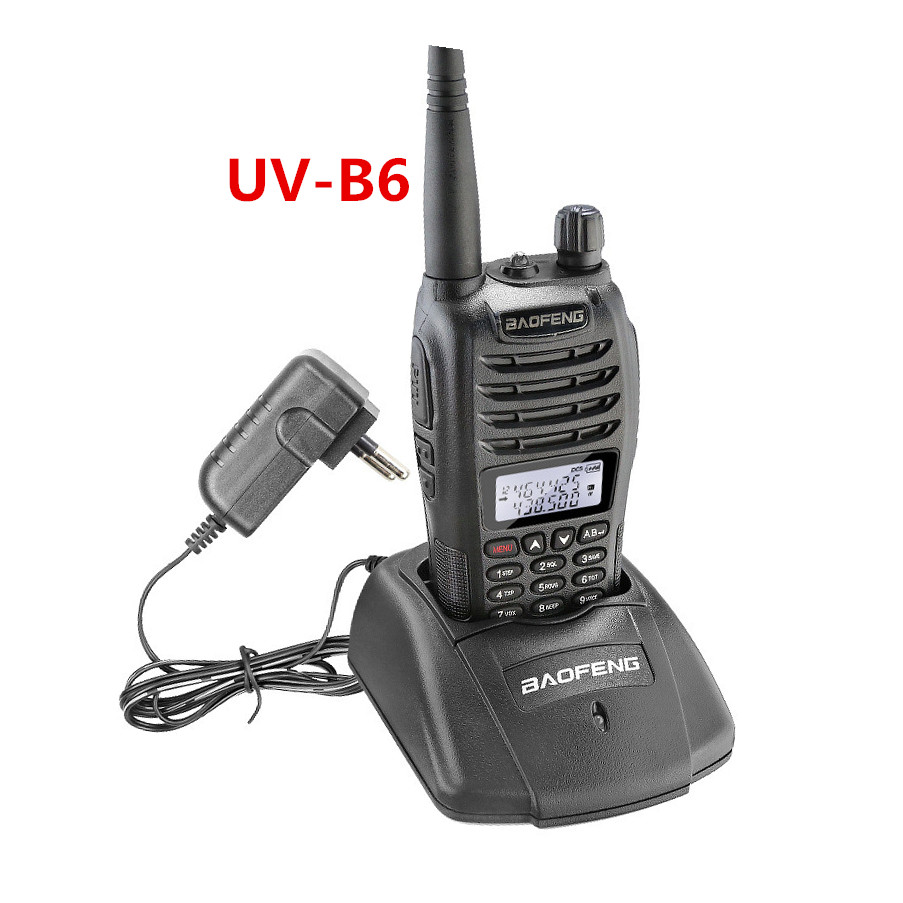 Dual band walkie talkie Baofeng UV-B6 CE certificate
