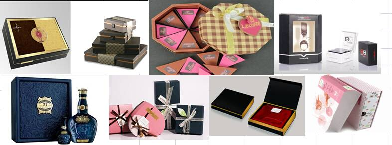Hand-made giftbox