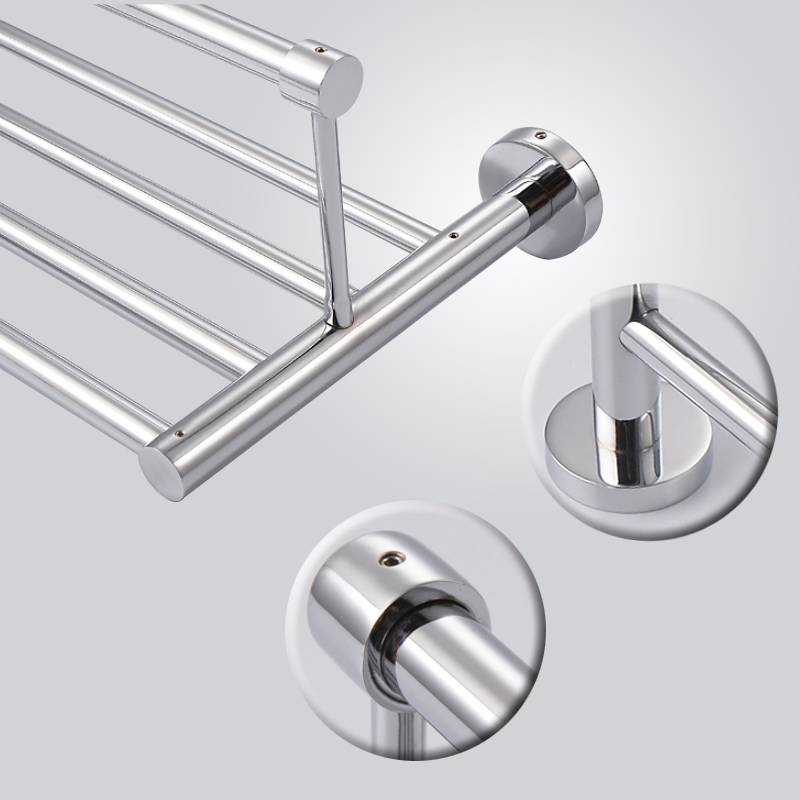 Customized stainless steel wall mounted bathroom towel rack