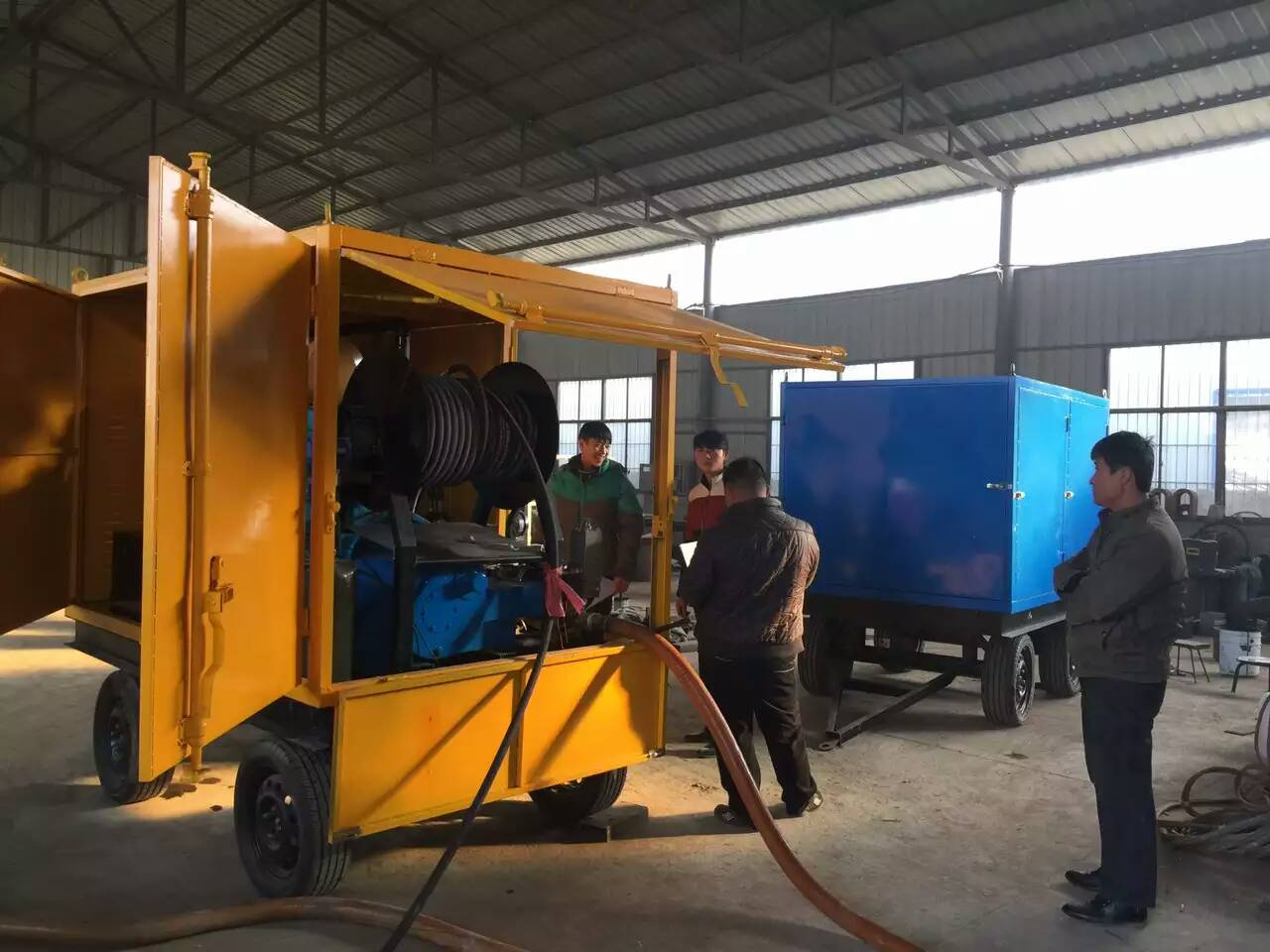 High Pressure Big Flow Water Injection Cleaning System High Pressure Cleaner