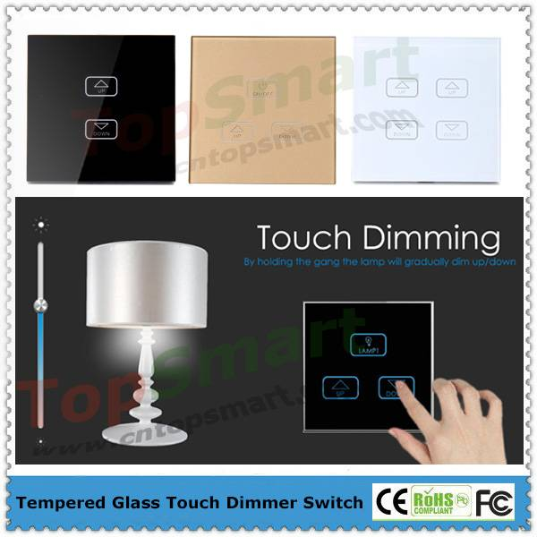 UK Standard  Wall Light Dimmer Remote Touch Switch
