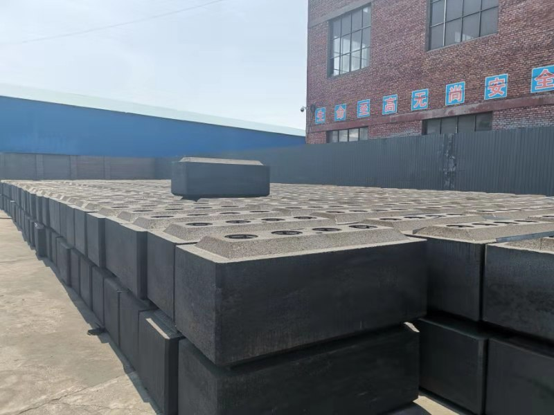 Prebaked Carbon Anode China Supplier used in pot room in Aluminum Plant