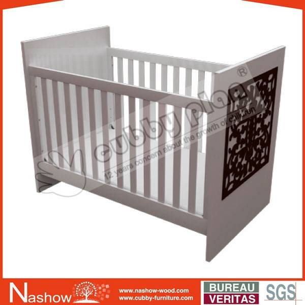 Cubby Plan LMBC-104 New High Quality Wooden 3 in 1 Baby Cot