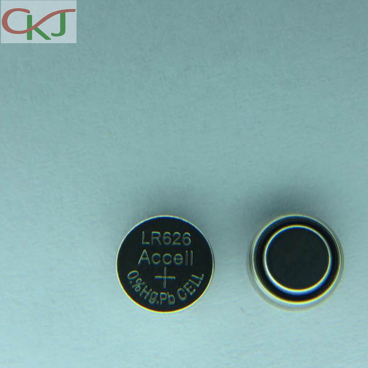 Low price LR626 alkaline button cell, 1.5V button cell battery