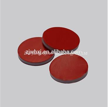 11mm red PTFE/white Silicone/red PTFE septa used for GC analysis