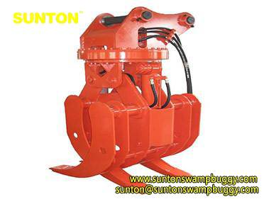 Hydraulic Log Grapple / Wood Grabber / Log Grappler / Gripper