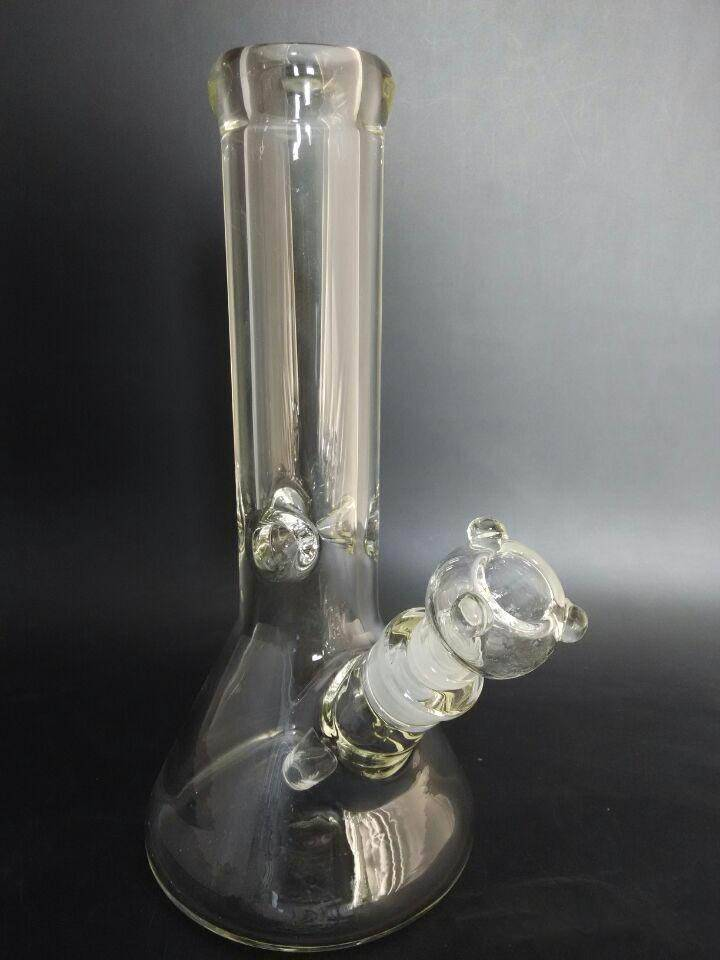 Super Heavy 9mm Thick Glass Ice Bong Beaker Base 12'' Height 18.8 > 14.5 Joint wp9001