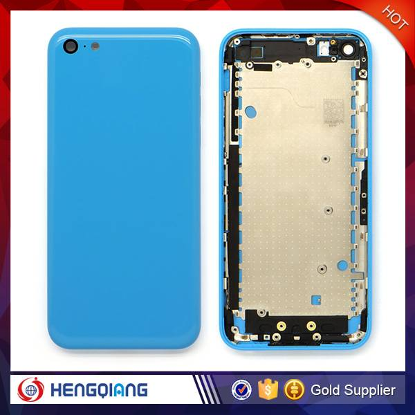 Top Quality For iPhone 5C Rear Housing , For iPhone 5C Back Cover Replacement