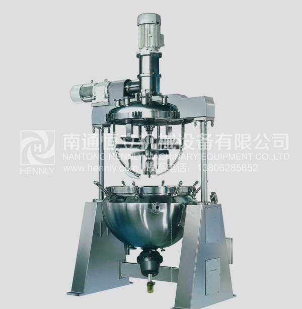 Industrial Vacuum Cream Mixer