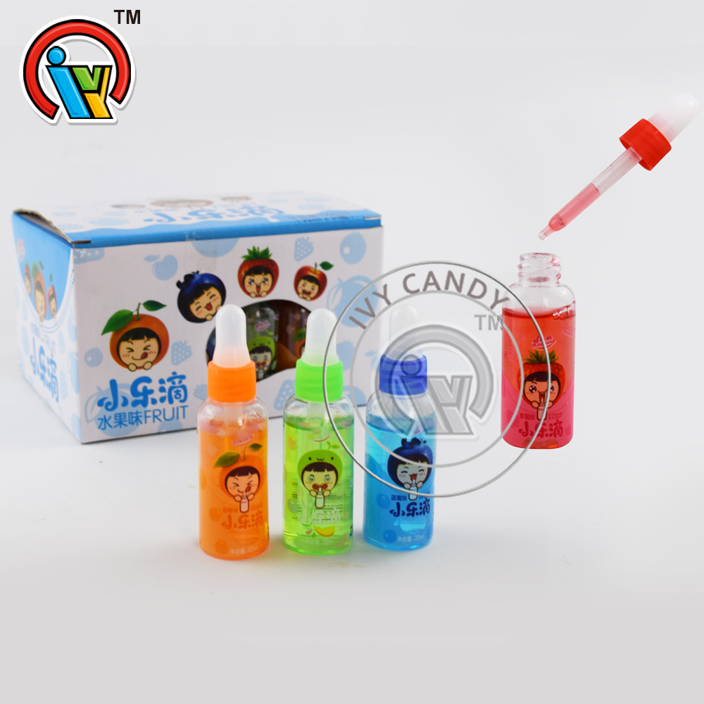 New Fruits Liquid Drops Jam Candy