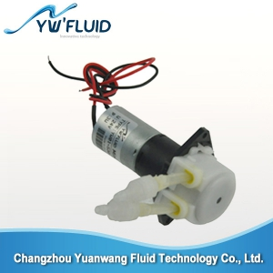 YW01-GDC12V peristaltic pump liquid filling machine china pump supplier
