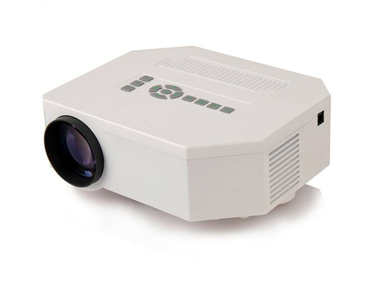 2014 New Digital LED Projector 640*480 Video Projector for home theater support HD Mini Projector .