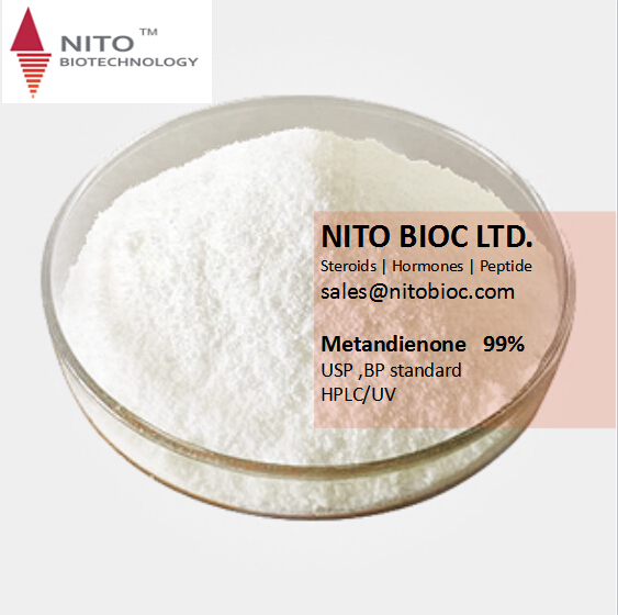 Promotion selling Metandienone steroid for bodybuilding with high quality factory direct supply