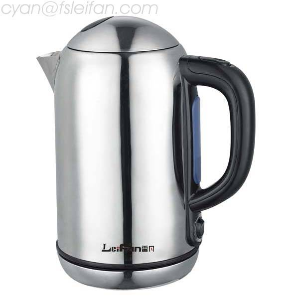 High Quality Of 0.5Mm S/S Electric Kettle For Tea And Coffee Maker
