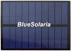 5 Volt 1W PET Solar Panel