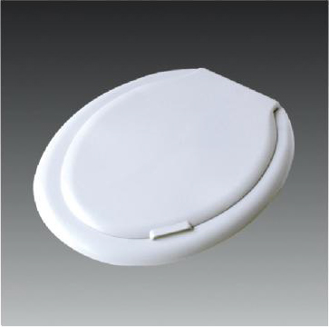 PP Plastic Toilet Seat Cover with Soft Close Hinge