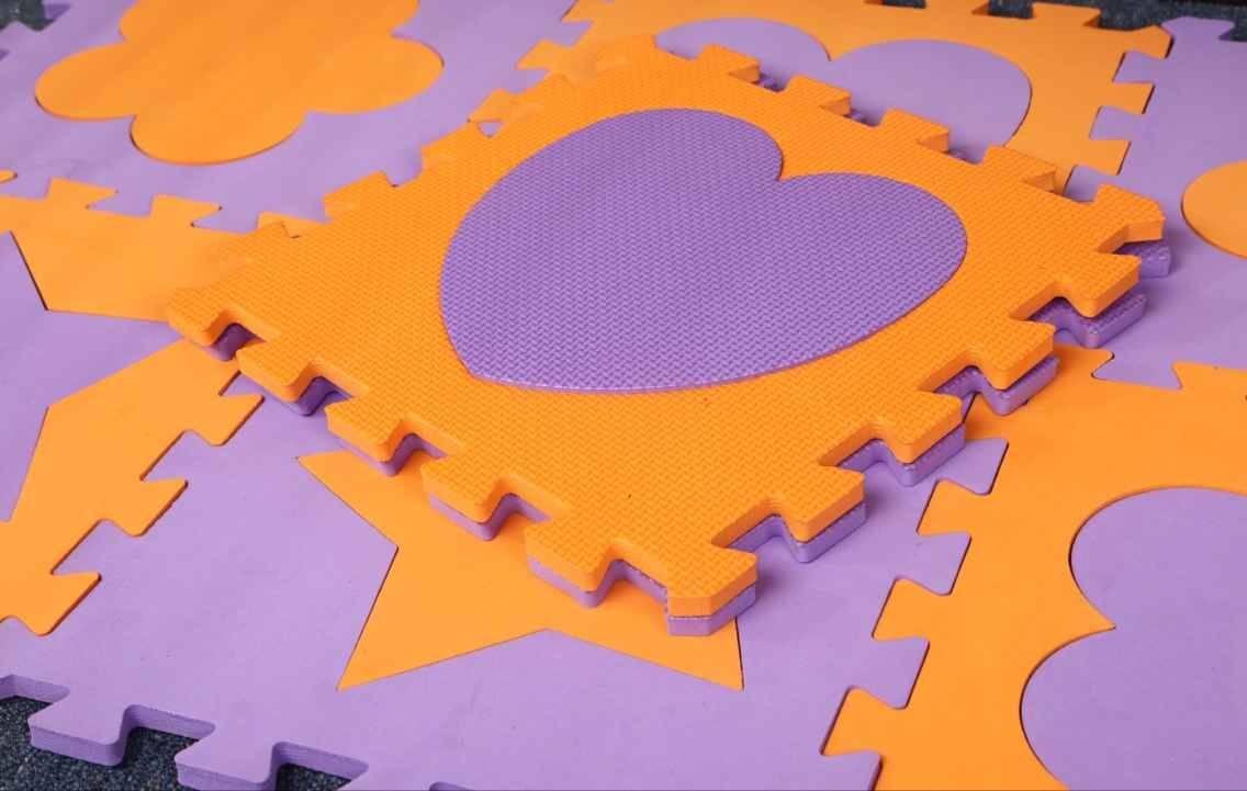 Design EVA jigsaw puzzle mat