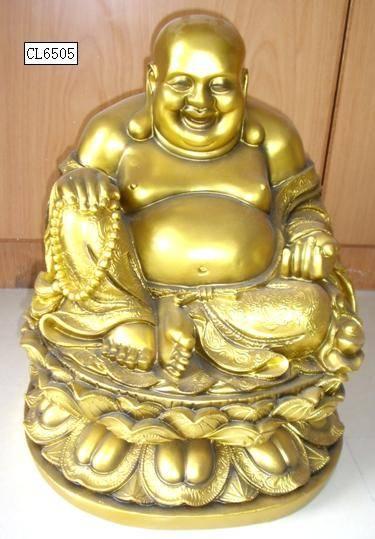 Polyresin Buddha statue / figurine
