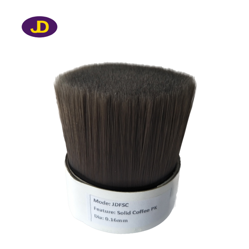 0.16mm Solid coffe brush filaments