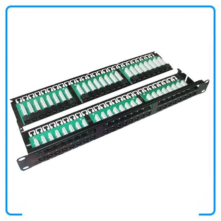 19 Inch 2U 48 Port UTP Cat3 110 Type Patch Panel