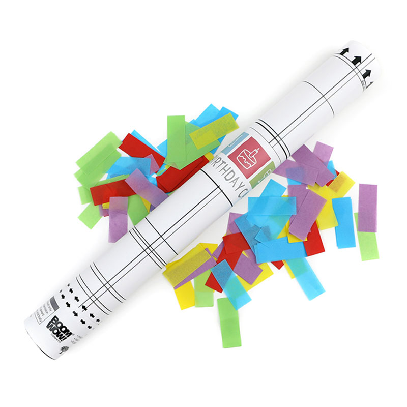 Boomwow Wholesale 100% Biodegradable Confetti Cannon for Birthday Party