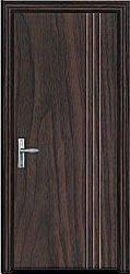 wood door of glass door series