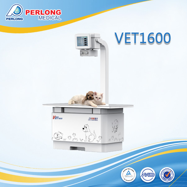 Digital radiography veterinary x-ray machine VET1600