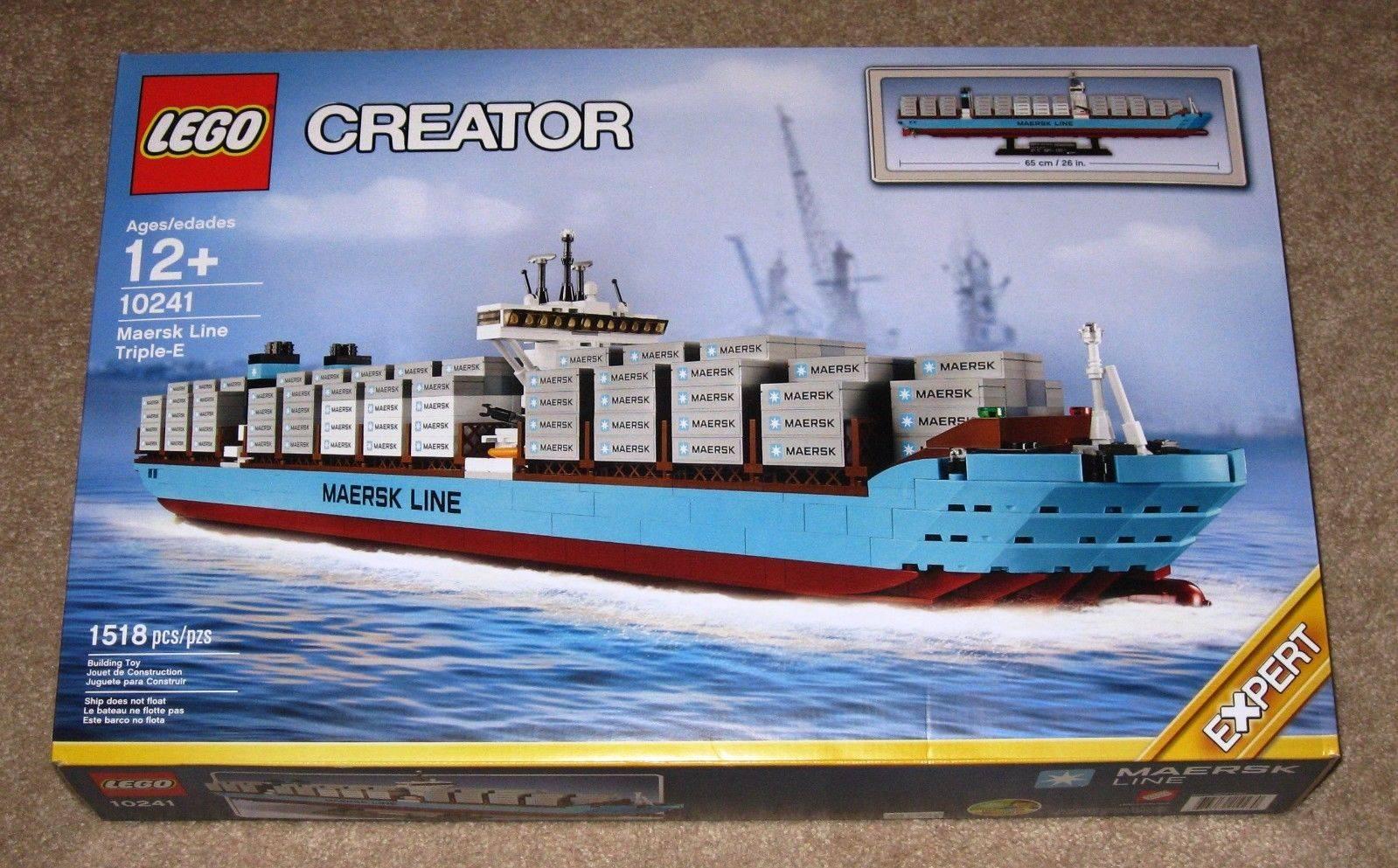 Lego 10241 Creator Maersk Line Triple-E Set