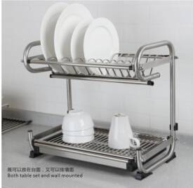 desktop dishes rack