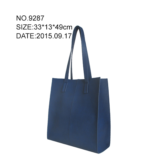 high quality trendy PU tote bag from china OEM handbags manufacturer