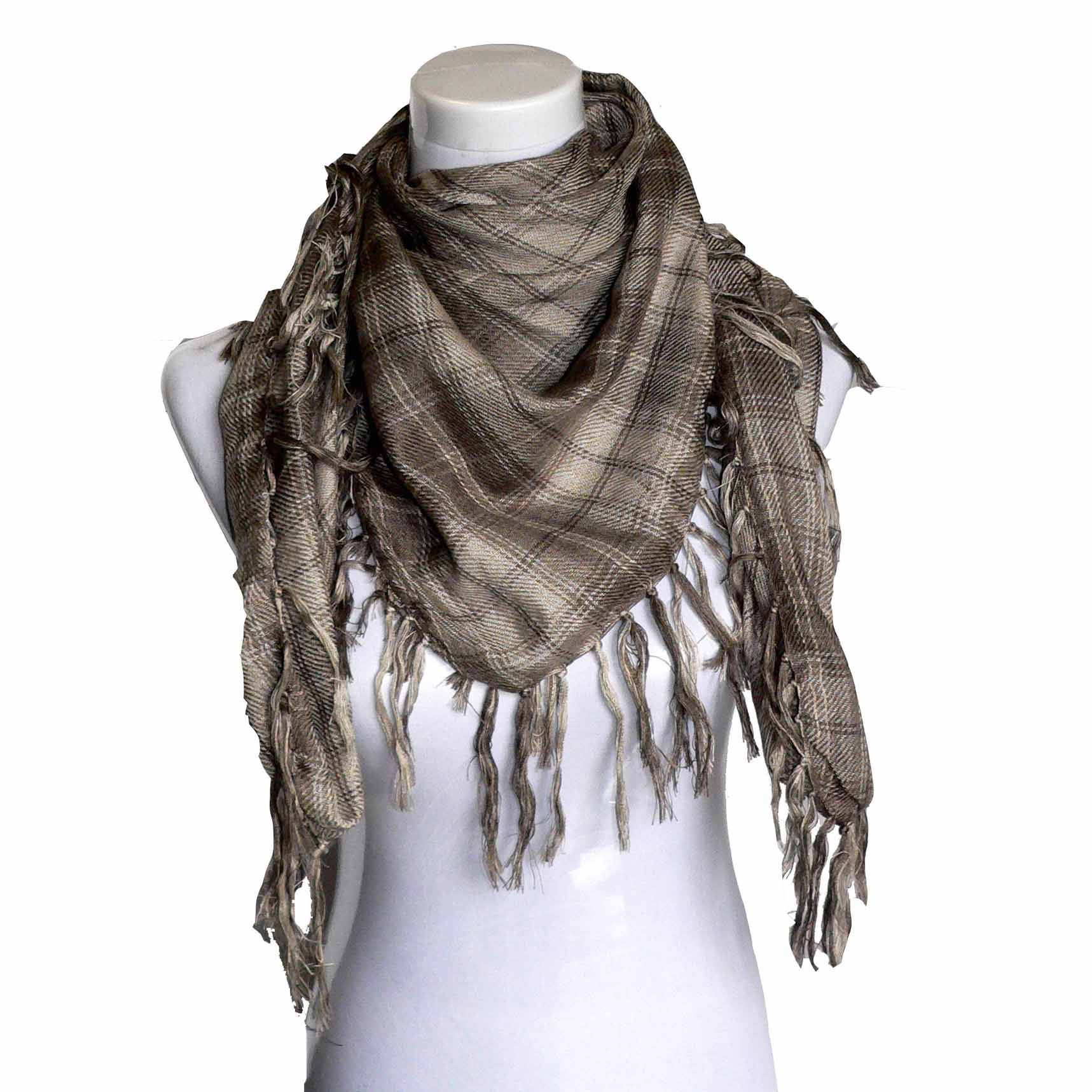 grid square scarf