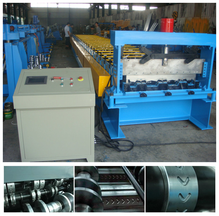 metal deck roll forming machine steel deck forming machine steel deck floor tile roll forming machin