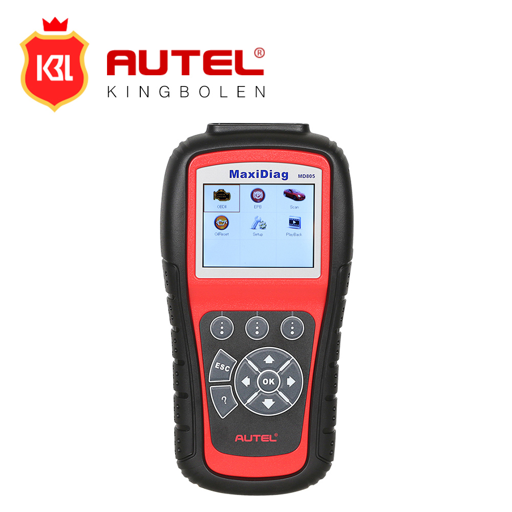 AUTEL MaxiDiag Elite Diagnostic Tool Same as MD802 All System Scanner MD805